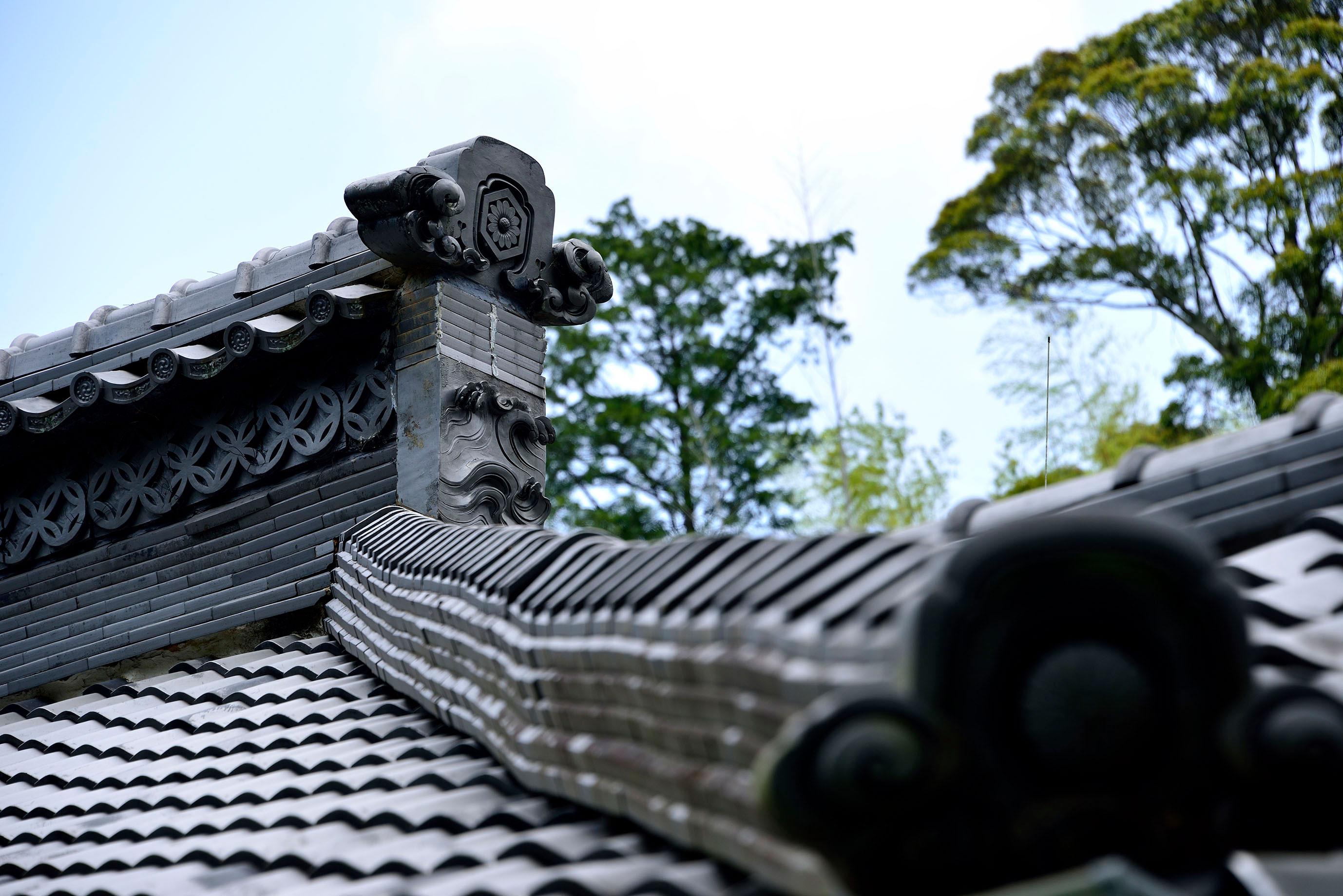 方丈 屋根瓦